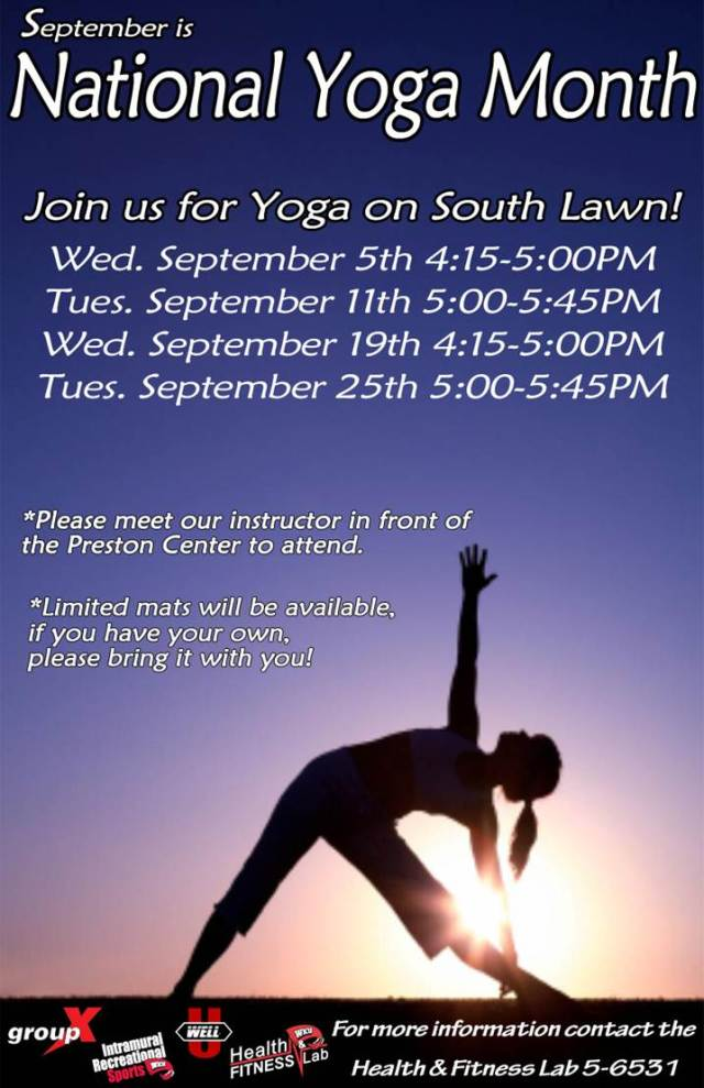 WKU's Free Outdoor Yoga