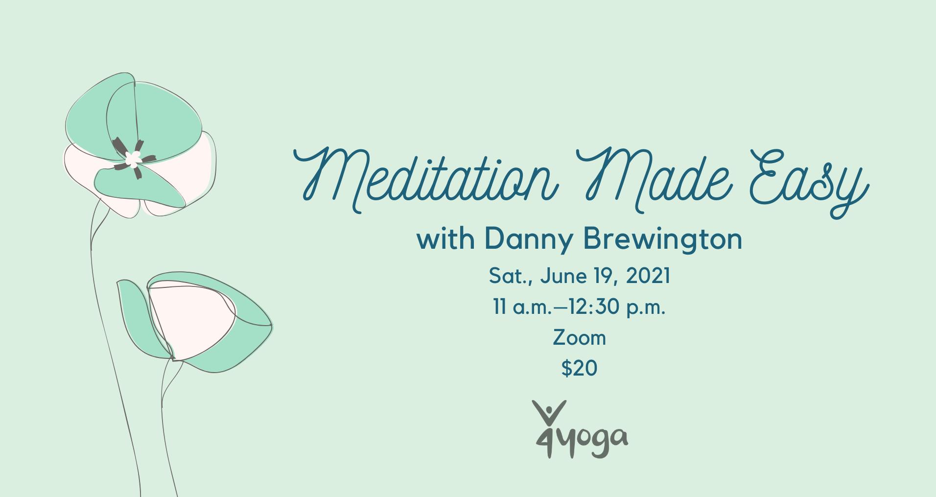 graphic advertising meditation workshop